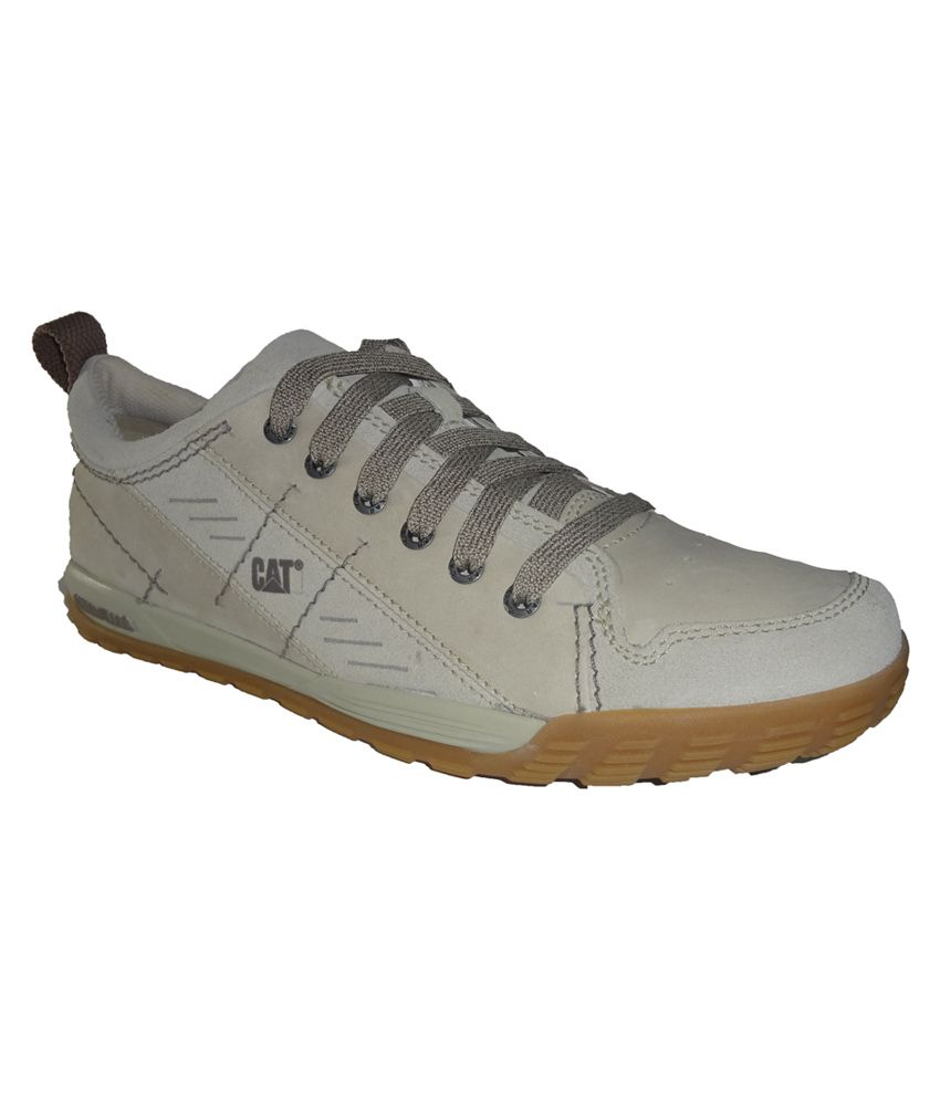 Caterpillar White Suede Leather Casual Shoes - Buy Caterpillar White Suede  Leather Casual Shoes Online at Best Prices in India on Snapdeal c772d02d856