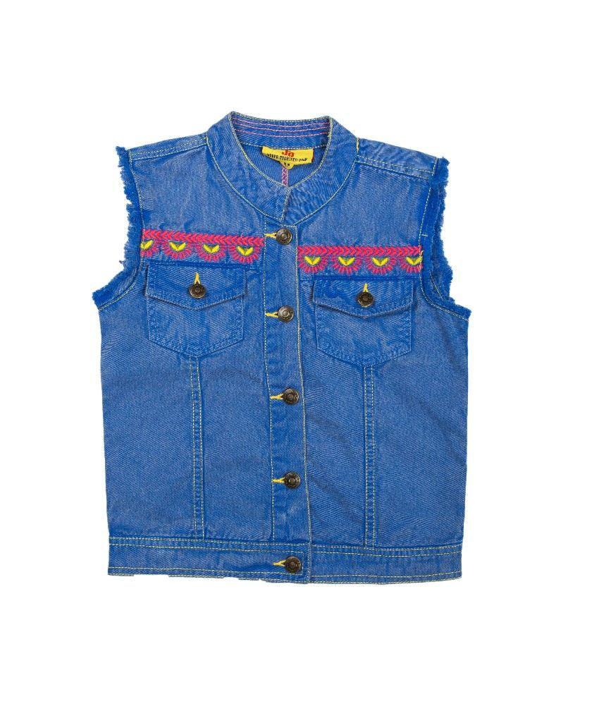 Ufo Blue Color Jacket For Kids