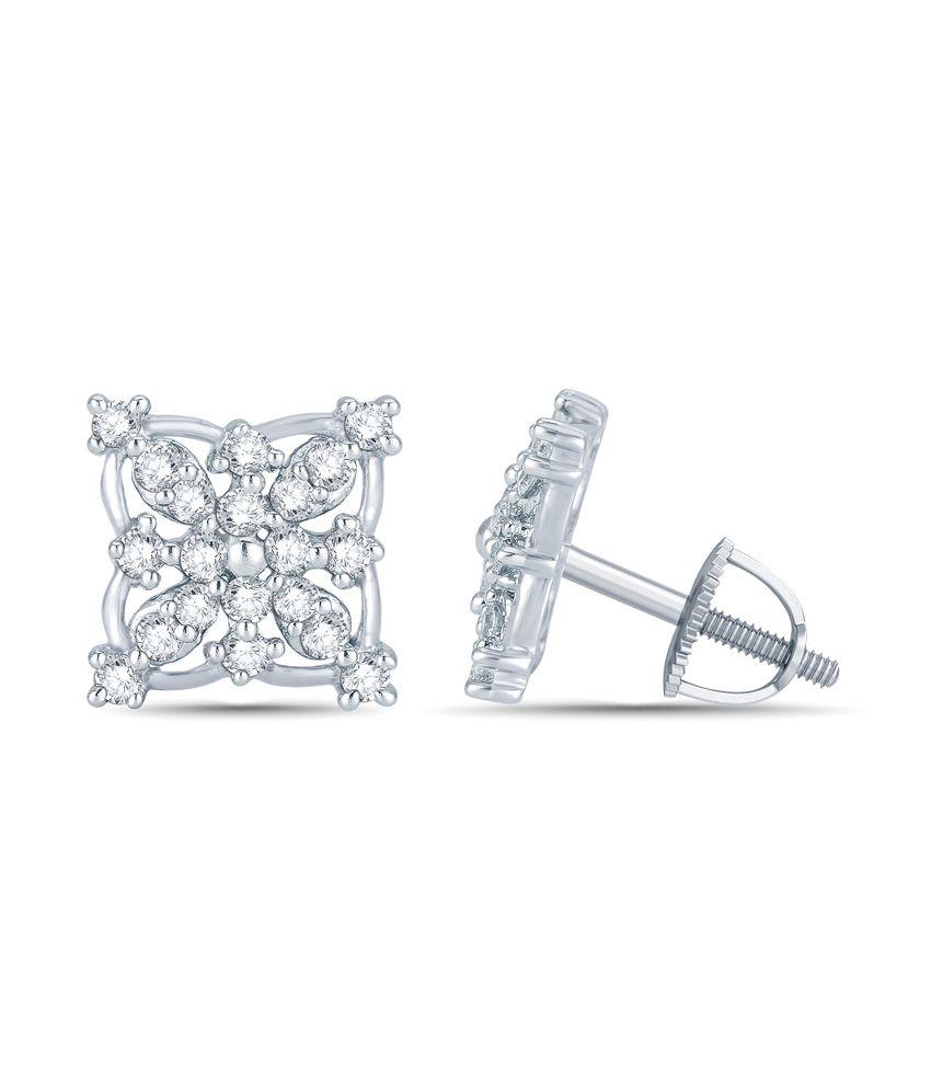 Mani Jewel 92.5Kt Silver  Divyakshi  Earring