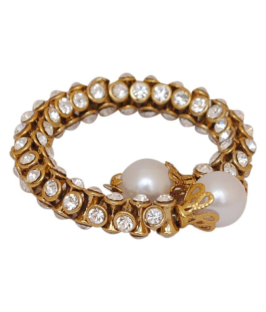 Oars Style Diva Gold Bracelet