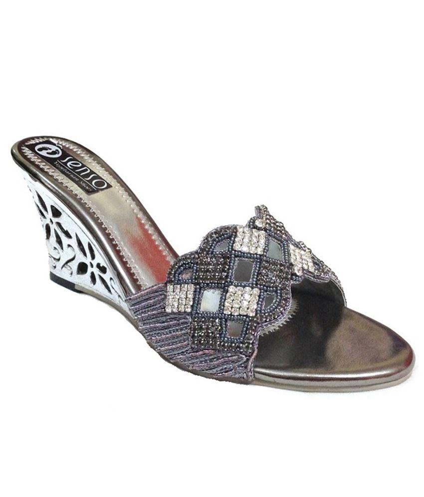 Senso Vegetarian Shoes Silver