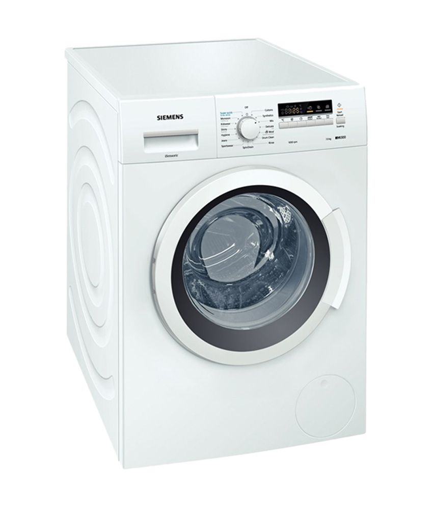 Siemens 7 Kg WM10K260IN Fully Automatic Front Load  Washing MachineWhite