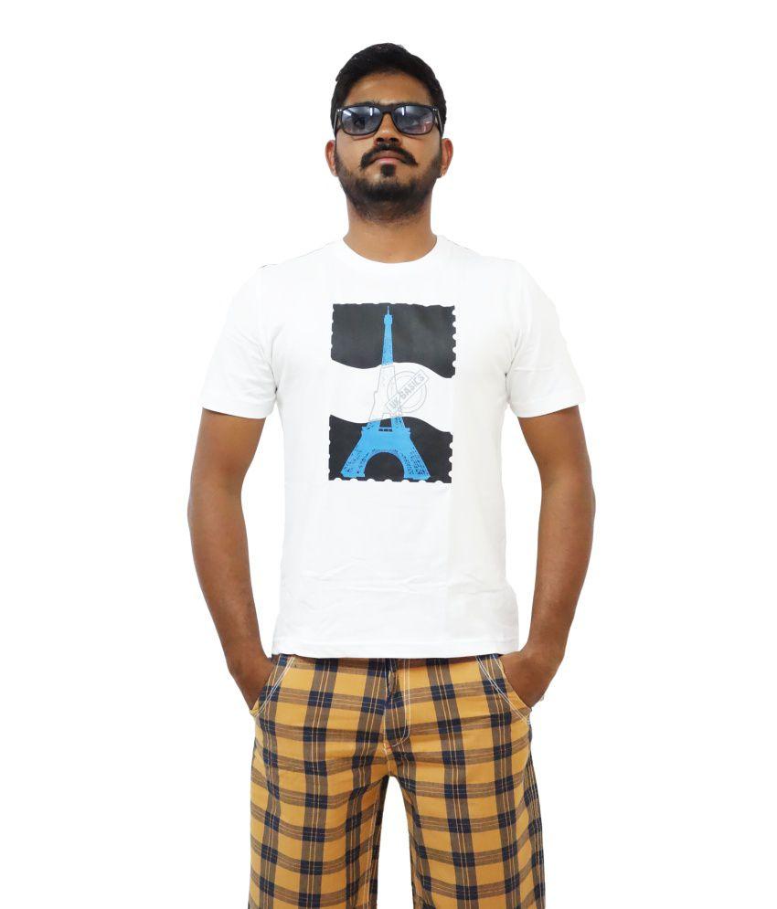 Uk Basics Round Neck White T Shirt
