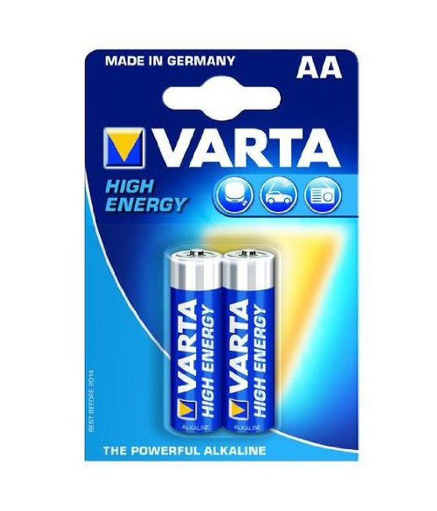 varta high energy 2 aa size alkaline batteries pack of 10. Black Bedroom Furniture Sets. Home Design Ideas