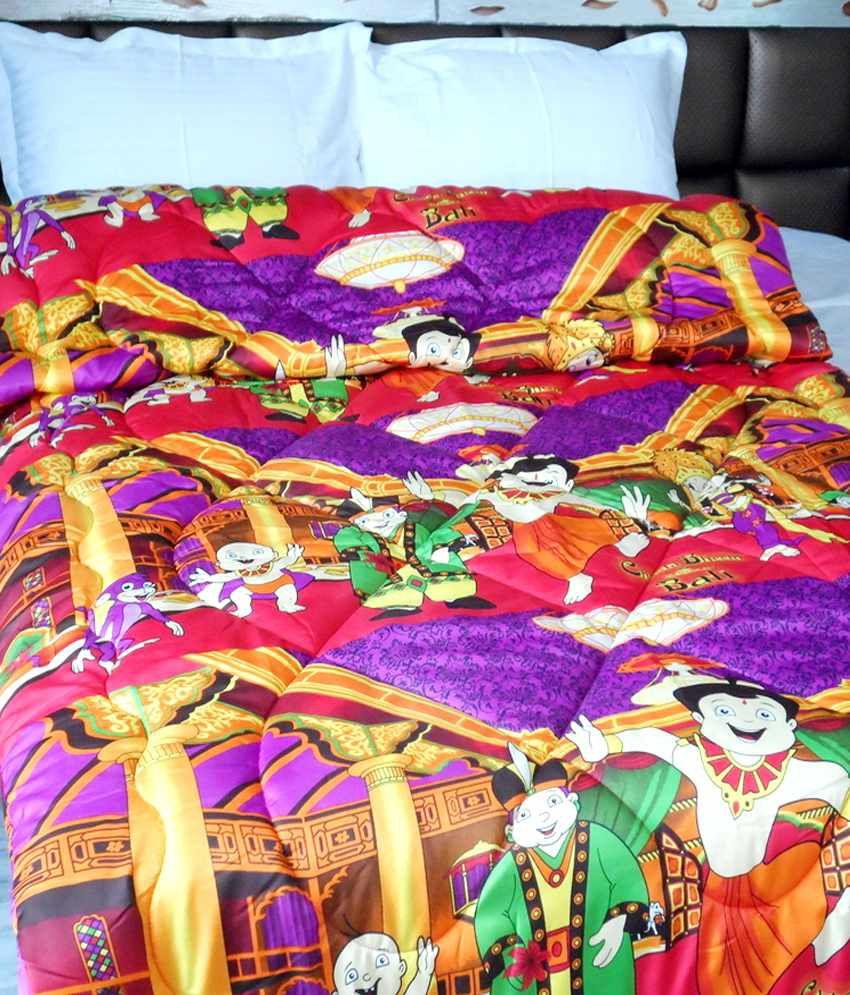 Snuggle Orange Floral Blends Double Comforter Best Price
