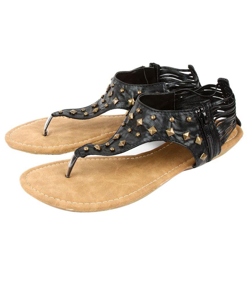 Starchi Black Sandal