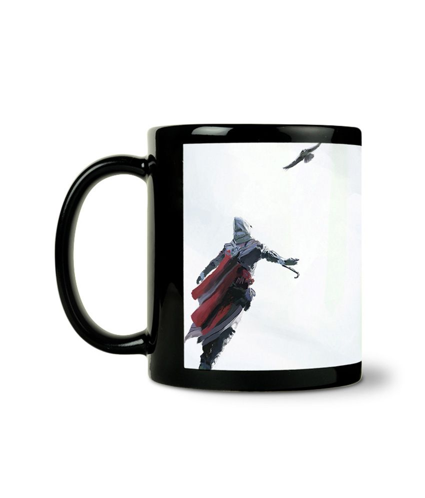 Bluegape Dafuk Assassin Creed Black Mug