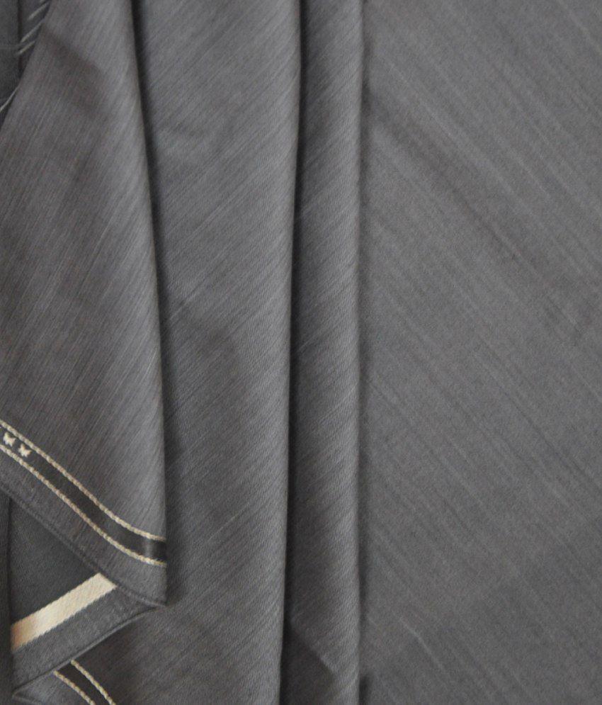 Raymond Grey Self Design Executive Trouser Fabric
