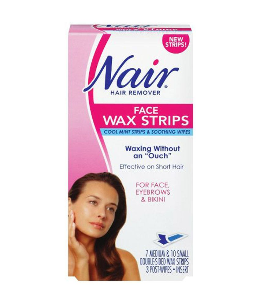 Nair Face Wax Strip Buy Nair Face Wax Strip At Best Prices In