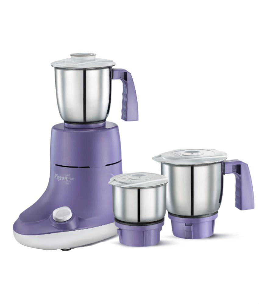 Pigeon viola 550 w 3 jar mixer grinder price in india for What brand of blender is used on the chew
