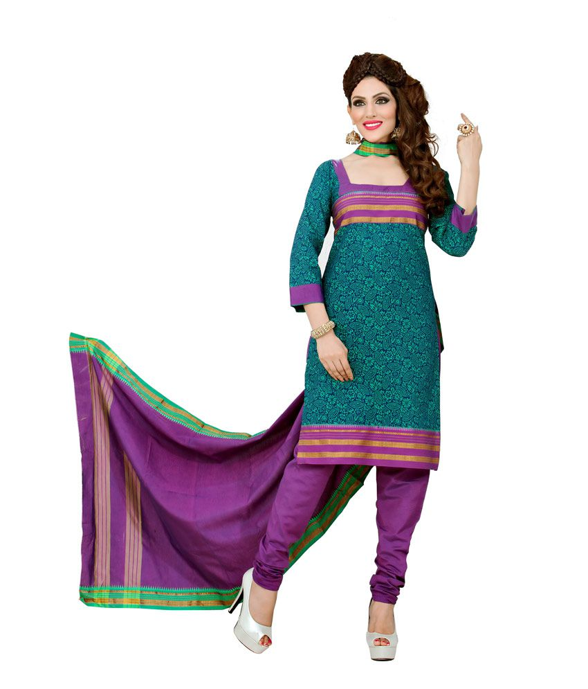 4c7e301d6 SN KUNDEN POONA SUITS Purple Cotton Unstitched Dress Material - Buy SN  KUNDEN POONA SUITS Purple Cotton Unstitched Dress Material Online at Best  Prices in ...