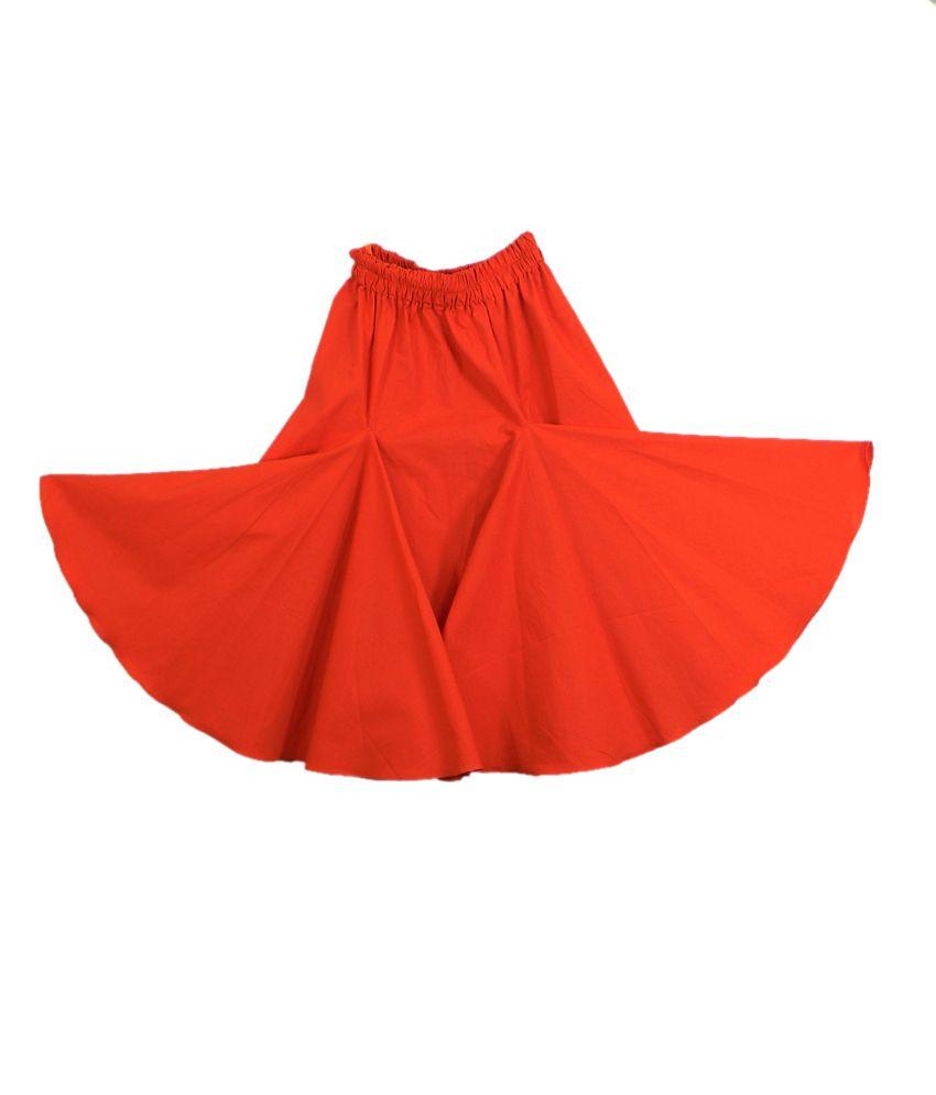 Ssmitn Orange Skirt