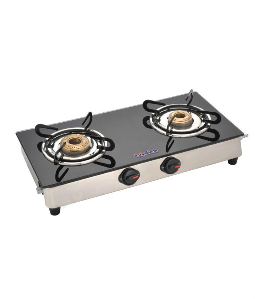 Surya Flame Classic 2 Burner Gas Cooktop