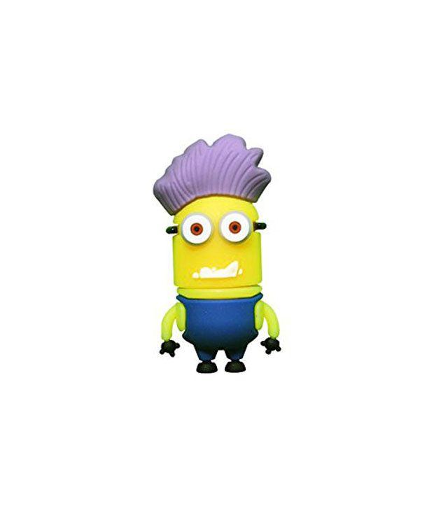 The Fappy Store Minion Purple Head Pen Drive 32 GB Multicolor