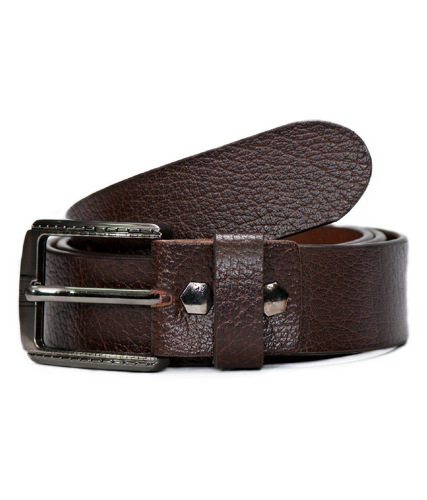 Jihi Fashions Brown Formal Single Belt