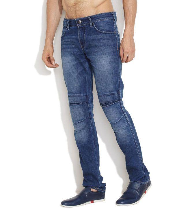 Wrangler Dark Blue Touch Care Jeans