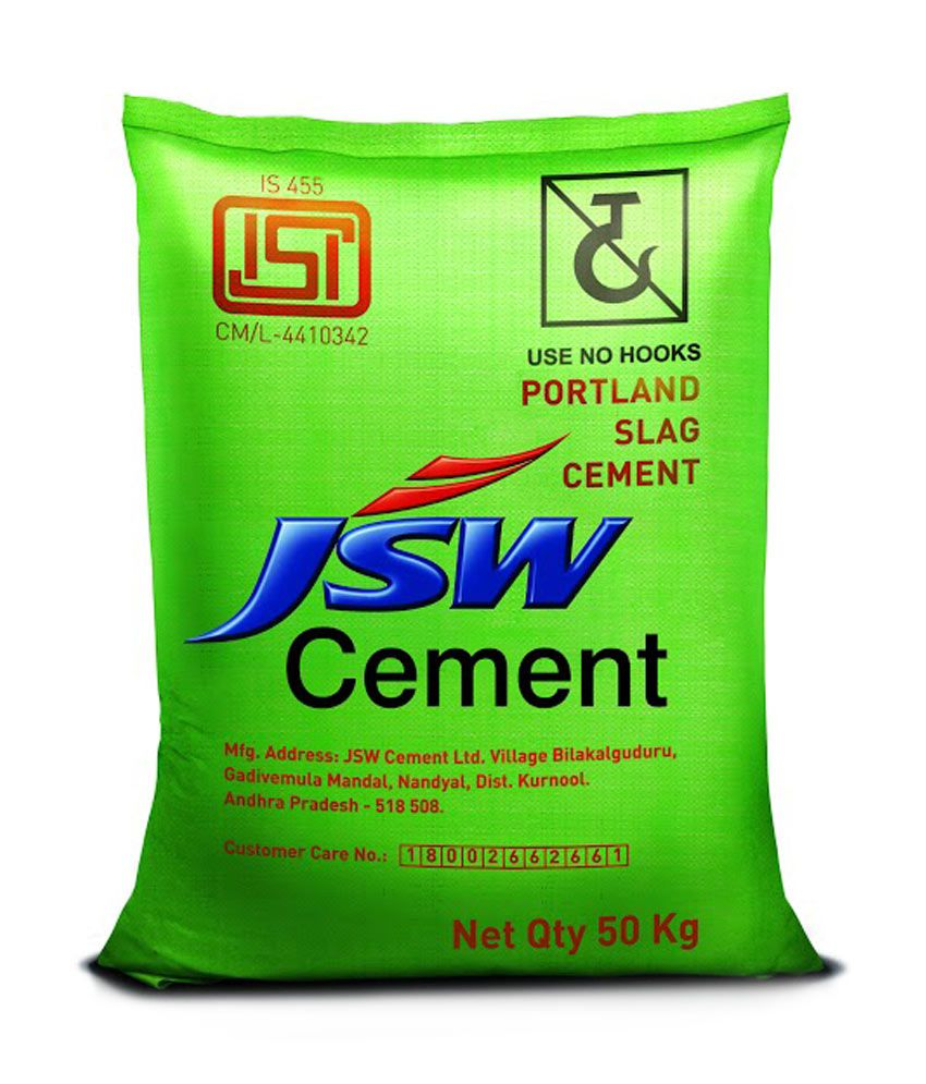 Ultratech Cement Latest Bag : Buy jsw psc cement kg paper packing online at low