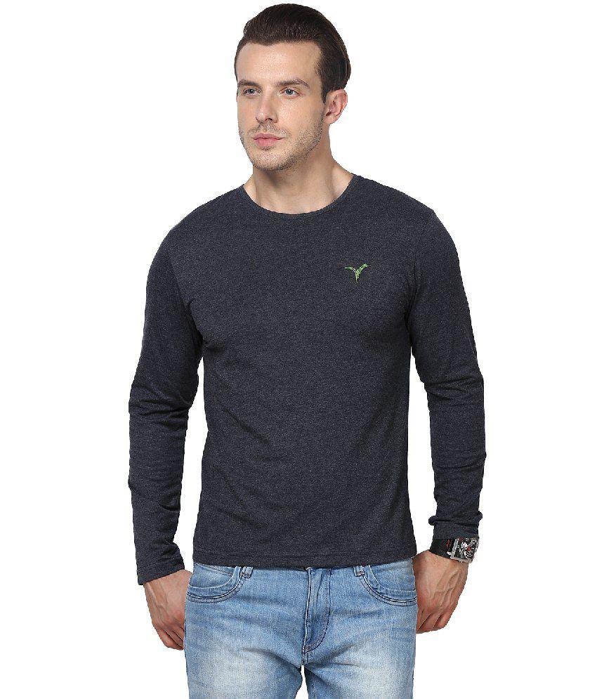 Monteil & Munero Gray Cotton Blend T-shirt