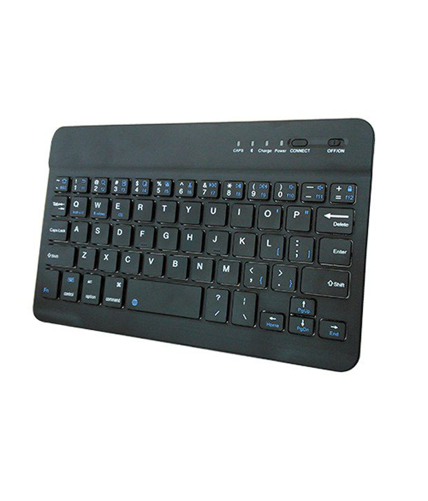Saco Slim Bluetooth keyboard for Karbonn Smart Ta Fone A37 HD Tablet