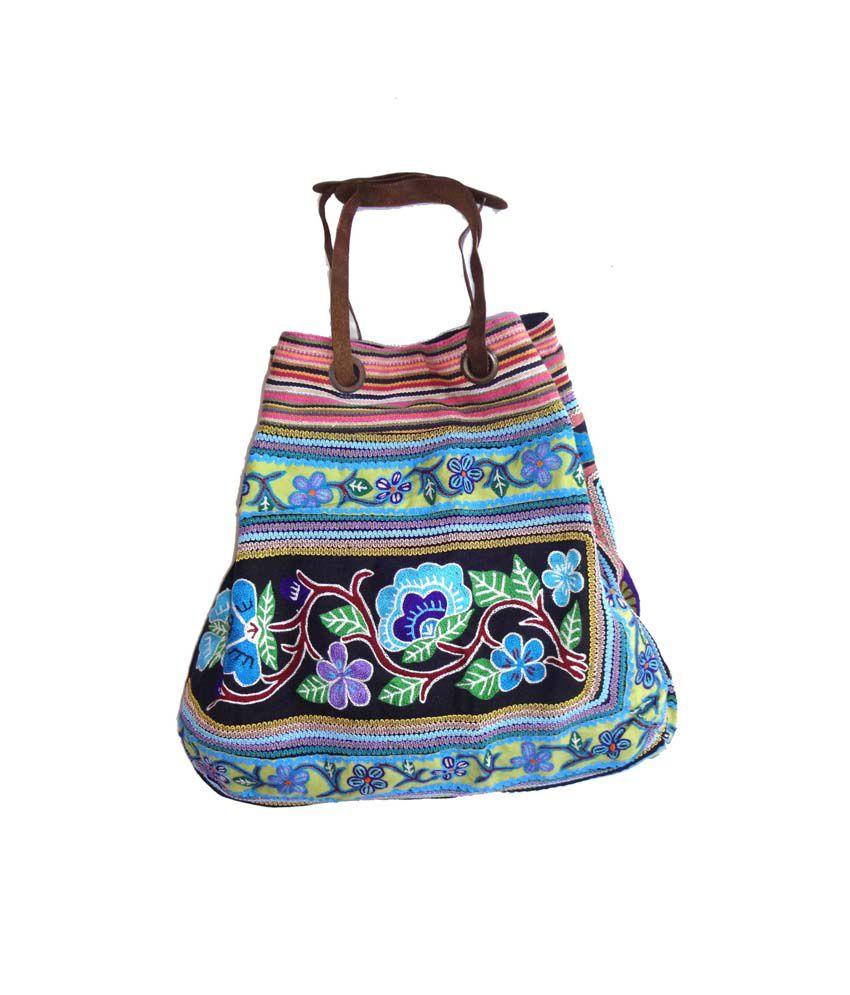 Craftshub Exclusive Wedding Collection Hand Embroidered Bag