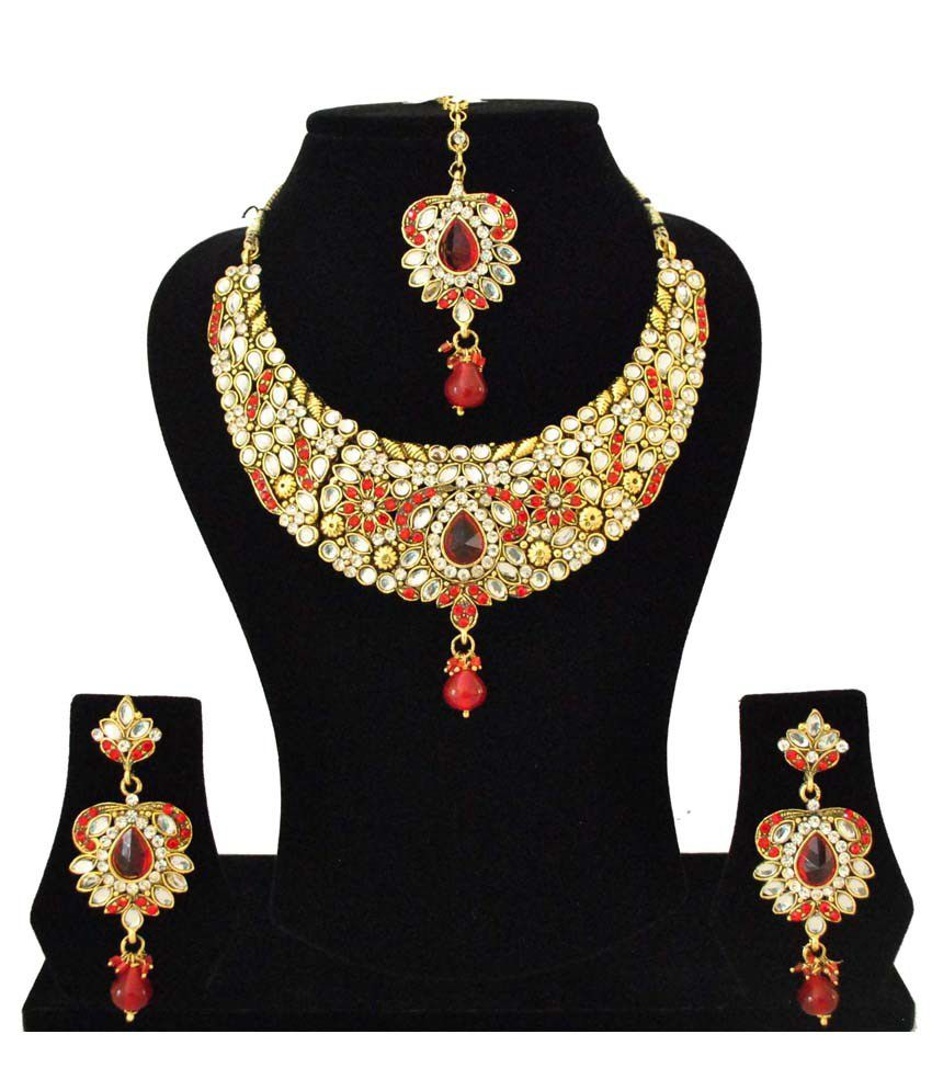 Fashionography Kundan Bridal Necklace
