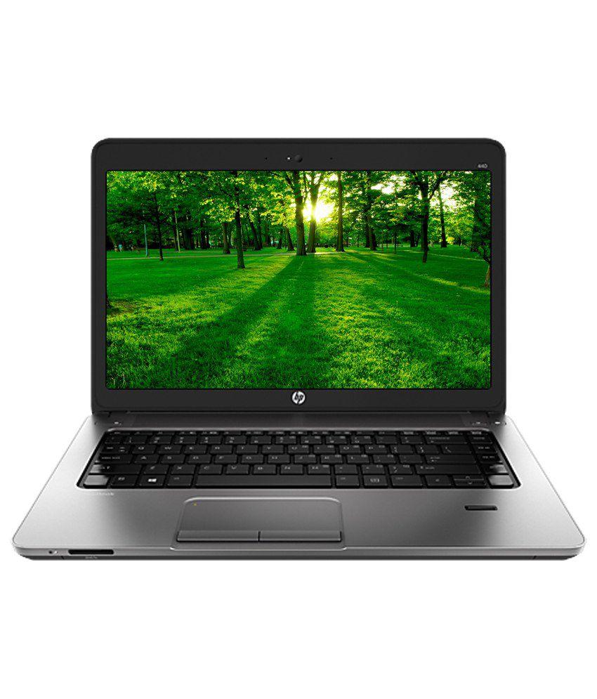 HP ProBook 440G1 (GOR72PA) Laptop (4th Gen Intel Core i3- 4GB RAM- 500GB HDD- 35.56cm (14)- DOS) (Black)