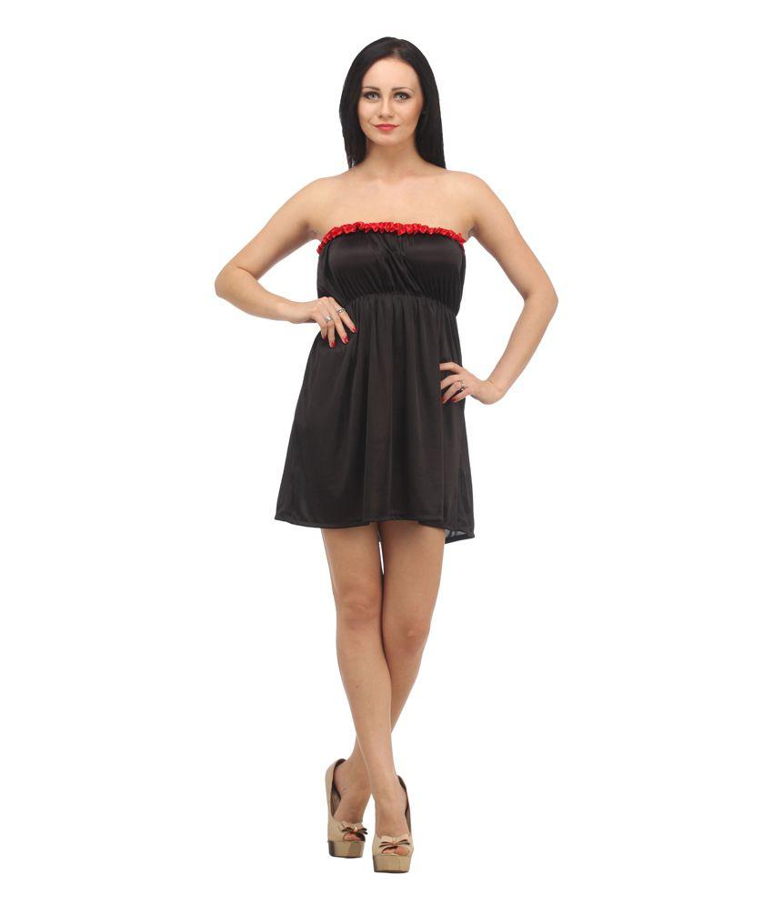 Buy Klamotten Babydoll Nightwear Online at Best Prices in India ...