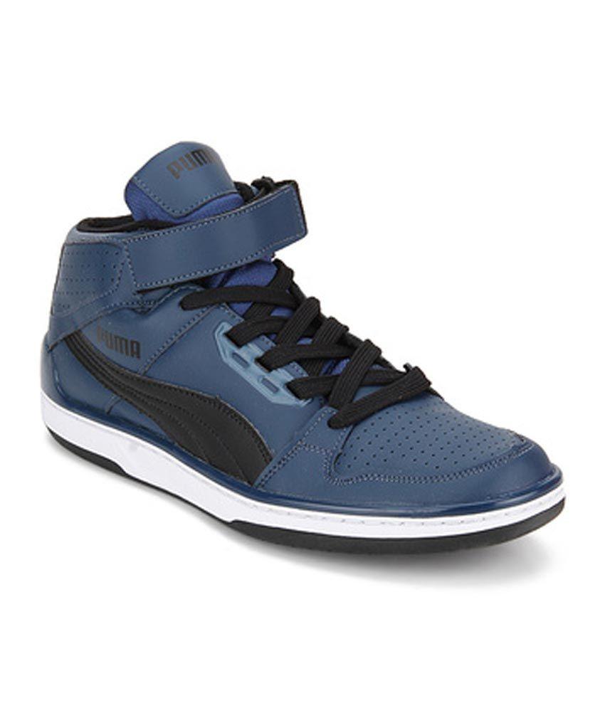 Puma Blue Sneaker Shoes