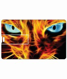 Printland Cat Eye 8 Gb 8 Gb Pen Drives Multicolor