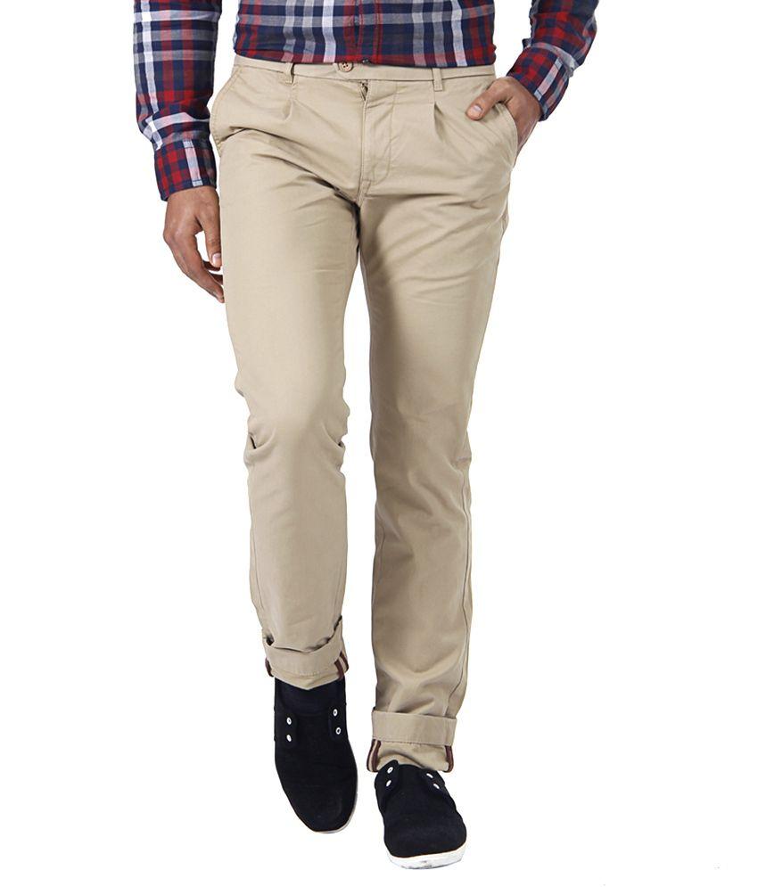 Indian Terrain Brown Slim Casuals