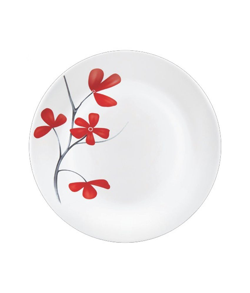 La Opala Diva Cherry Petal Dinner Set 19 Pcs