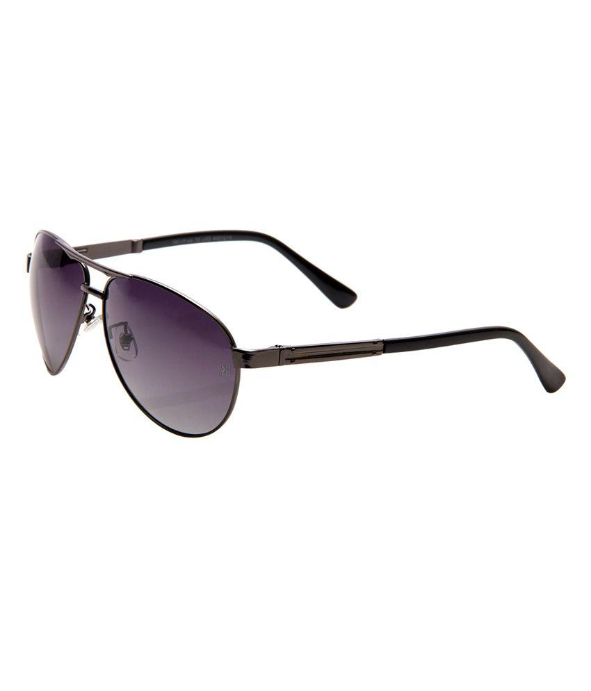 Raptor Polarized Metal Aviator Men Sunglasses