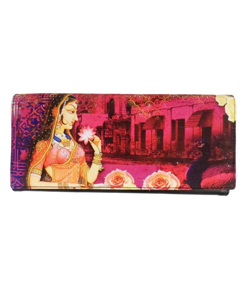 Bhamini Digital Multicolor Wallet