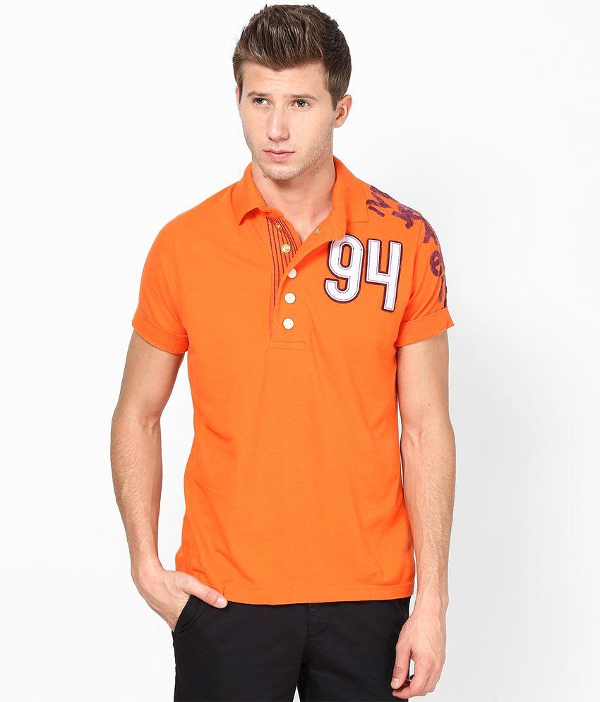 Ivpl@y T Shirt Orange