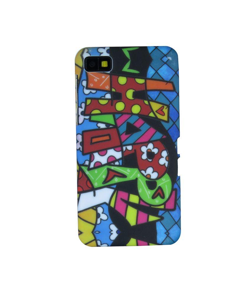 Snooky Back Cover Cases For Blackberry Z10 Multi
