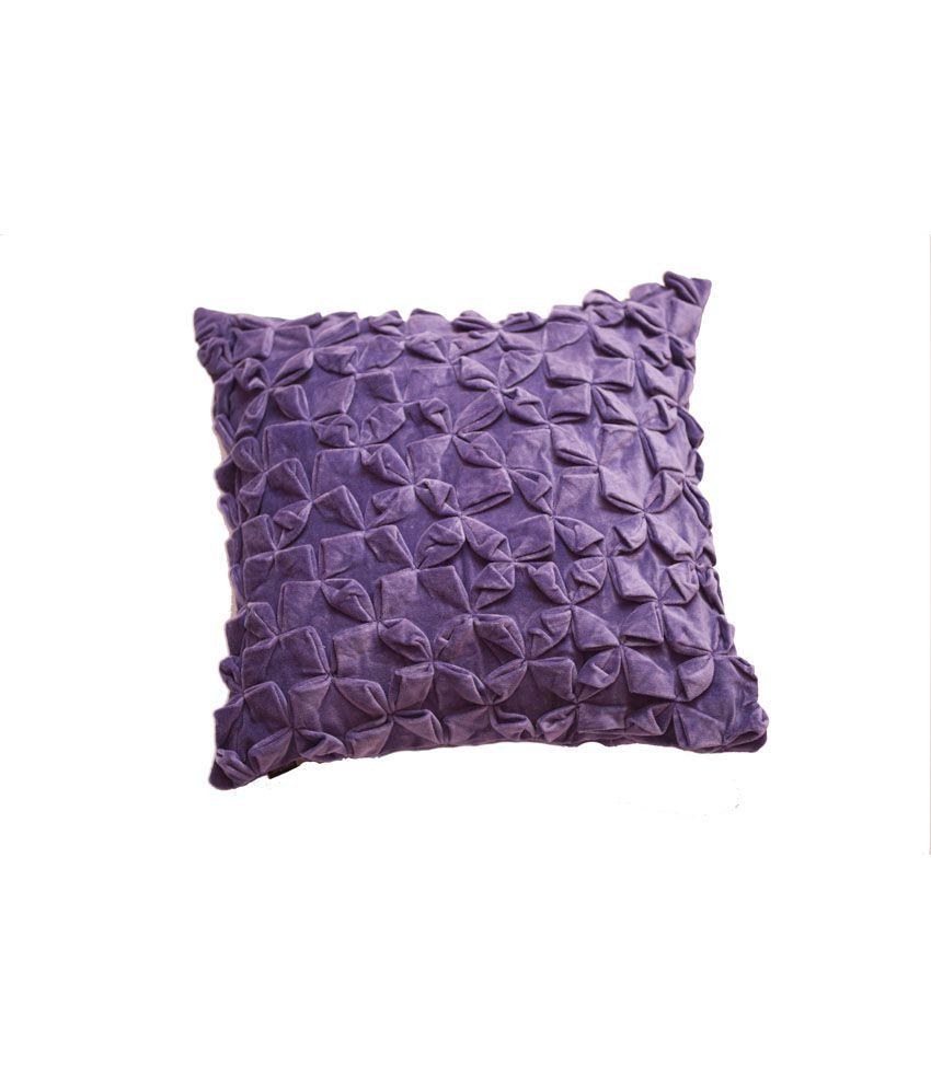 ranjakaa blue velvet cushion covers buy online at best. Black Bedroom Furniture Sets. Home Design Ideas
