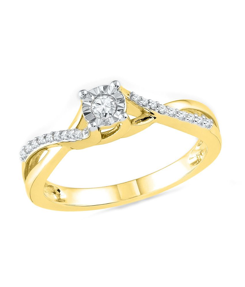 Ishis Yellow 18kt Gold Fashion Ring