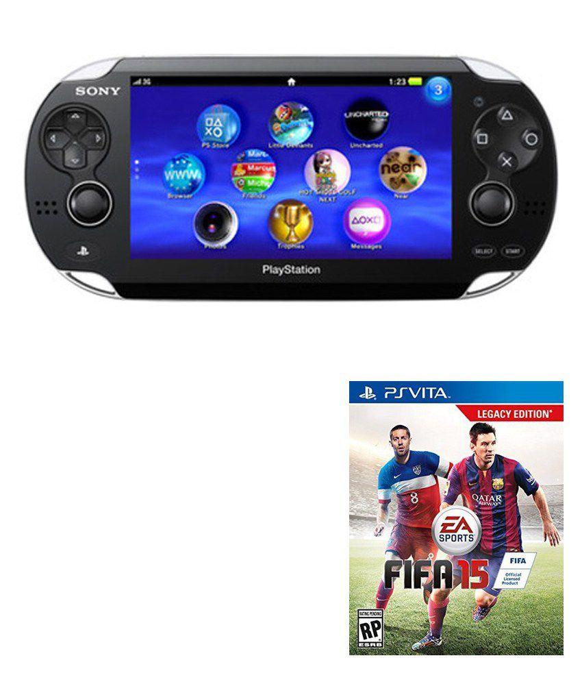 Sony PS Vita + FIFA 15 Legacy Edition