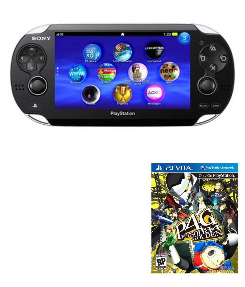 Sony PS Vita + Persona 4 Golden