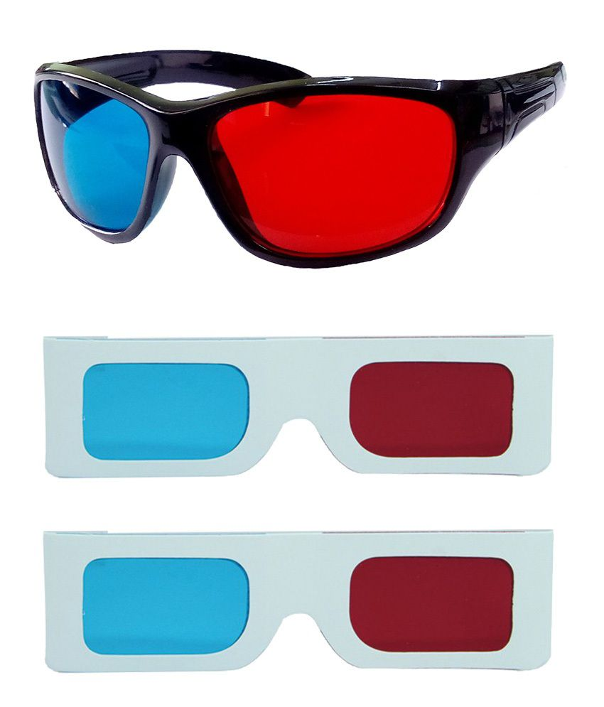 Buy Hrinkar Original Anaglyph 3d Glasses Red And Cyan 1