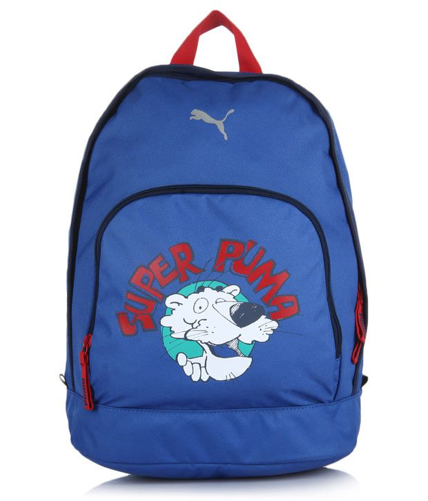 4551e9e07c5 Puma Nautical Blue Kids Backpack - Buy Puma Nautical Blue Kids Backpack  Online at Best Prices in India on Snapdeal