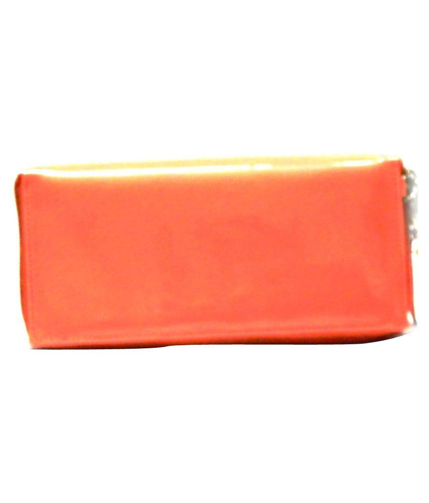 Birdy Multiple Pocket Peach Clutch