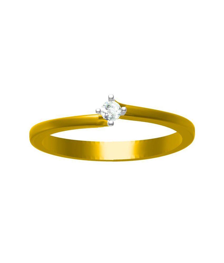 Sakshi Jewels One Diamond Ring