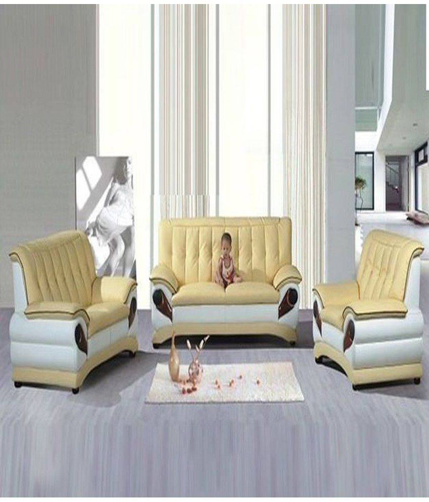 sofa factory white cream sofa 3 2 1 buy sofa factory white cream sofa 3 2 1 online at best. Black Bedroom Furniture Sets. Home Design Ideas