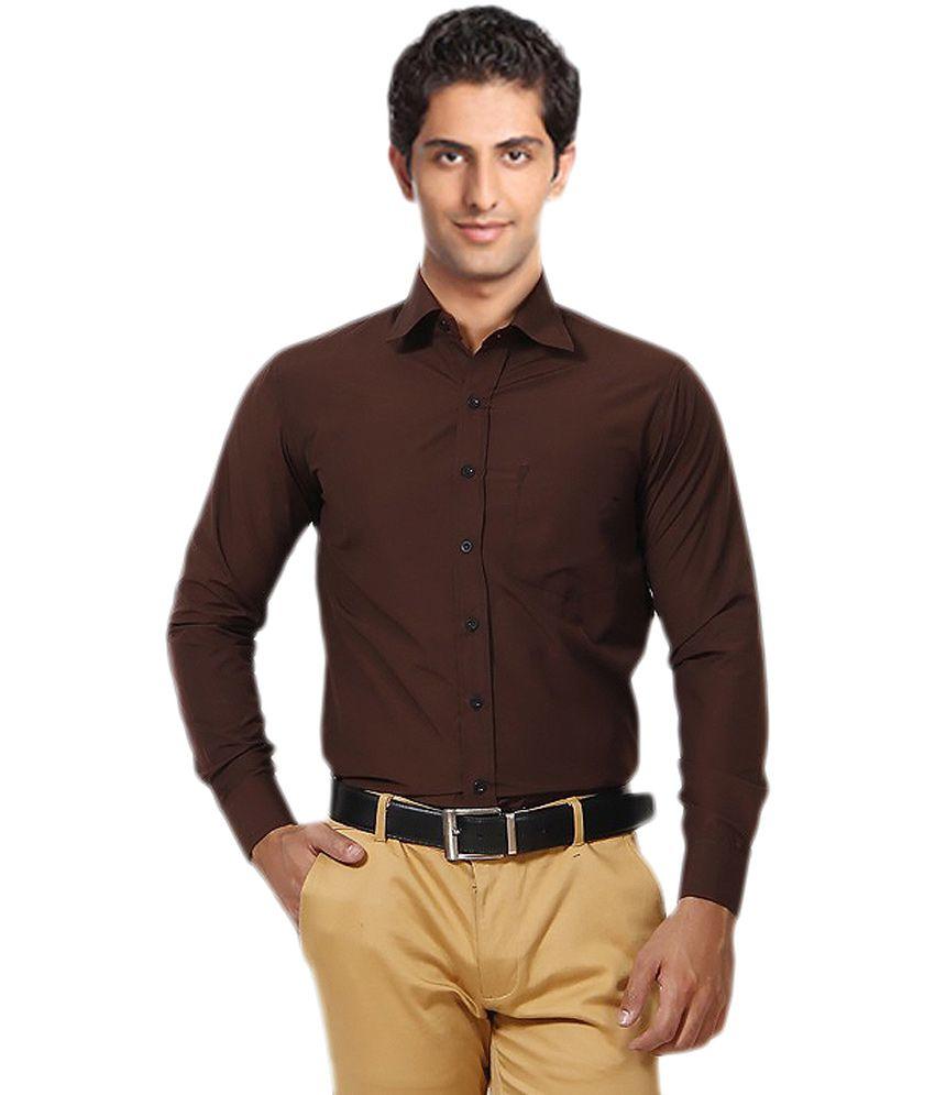 Unique for men brown shirt buy unique for men brown for Unusual shirts for men