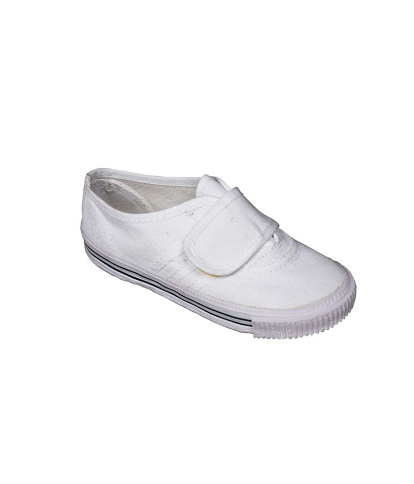 venus velcro white tennis shoes for price in india