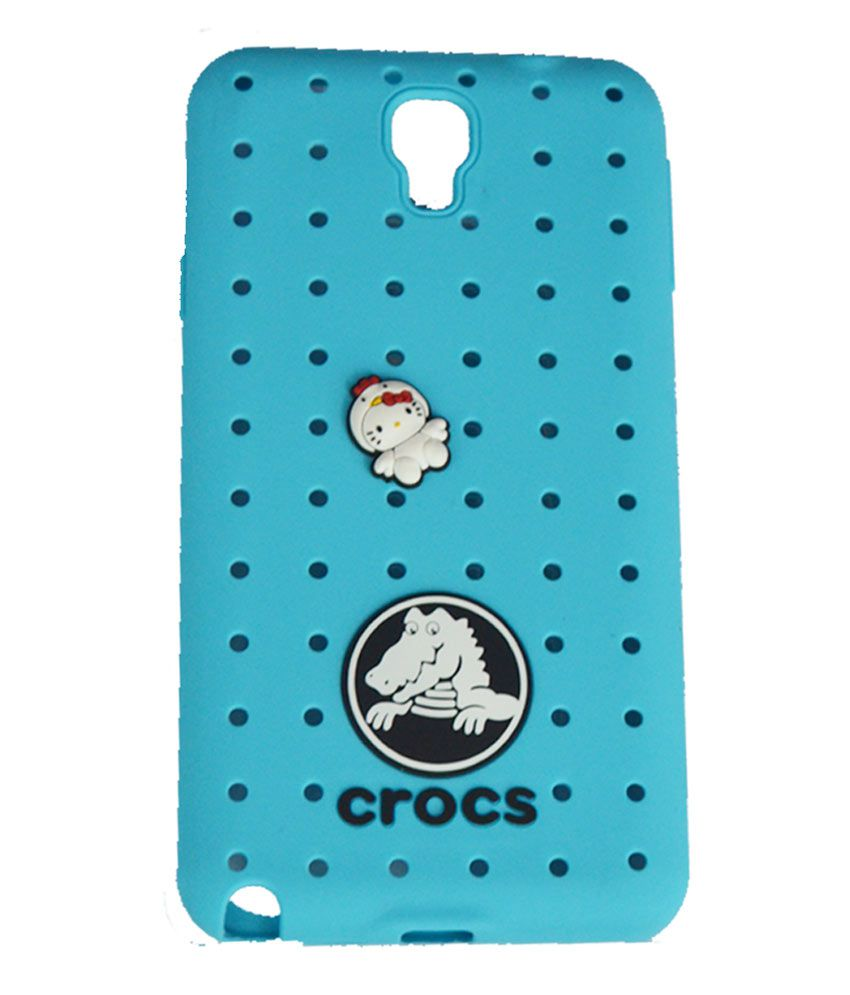 half off 88860 82f2e Crocs Crocs Silicone Back Case Cover With Changeable Stickers for ...