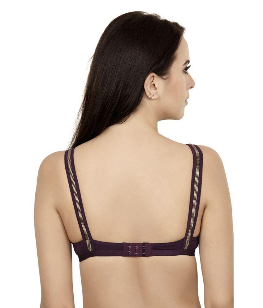 c3c9944c2a Buy Alies Lingerie - T-shirt Bra - Teenager ( Dark Purple ) Online ...