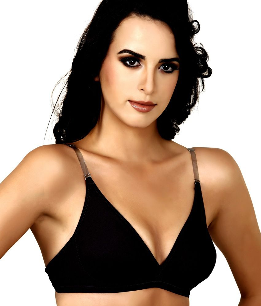d2223e3f3 Buy Alies Lingerie Black Lace Bra Online at Best Prices in India - Snapdeal