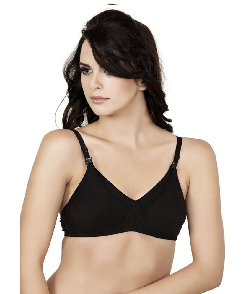 51939b23a7b buy alies lingerie t shirt bra feeding black online at best .